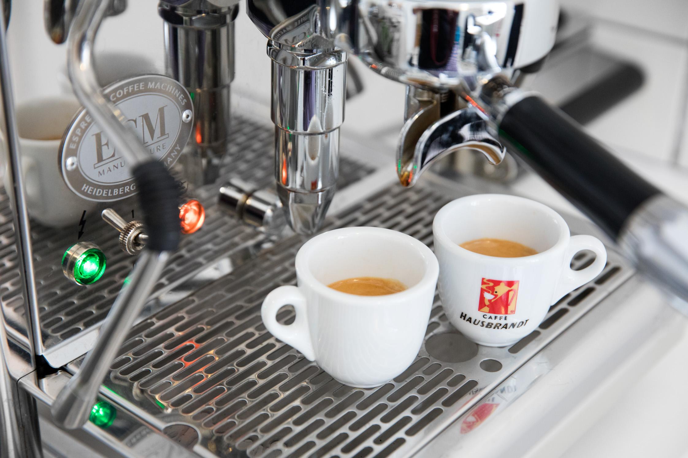Kaffee bei Dialogium